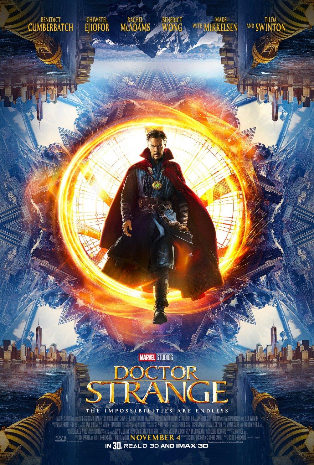Doctor Strange: poster dal Comic Con