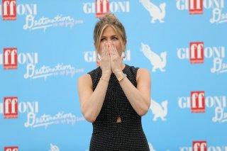 Jennifer Aniston emozionata a Giffoni 2016