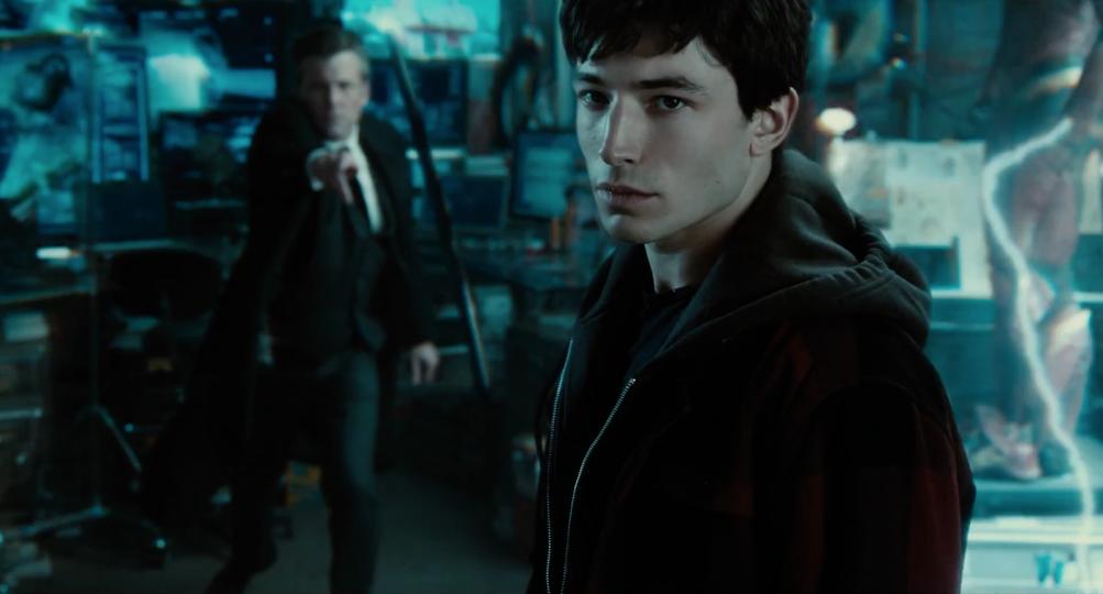 Justice League: Ezra Miller dalle prime immagini diffuse al Comic-Con 2016