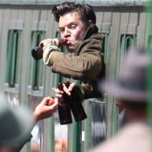 Dunkirk: Harry Styles in uno scatto sul set