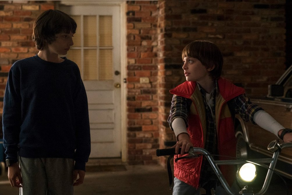 Stranger Things: un istante del primo episodio