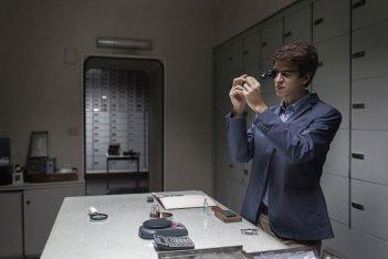 Le ultime cose: Fabrizio Falco in una scena del film