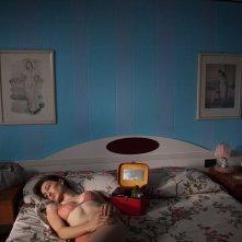 Le ultime cose: Christina Rosamilia in un momento del film