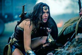 Wonder Woman: Gal Gadot durante un combatitmento