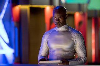 Wayward Pines: Djimon Hounsou Djimon Hounsou è CJ Mitchum in Bedtime Story