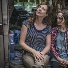 Tallulah: Ellen Page ed Allison Janney in una scena del film