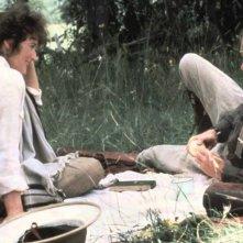 La mia Africa: una scena con Meryl Streep e Robert Redford