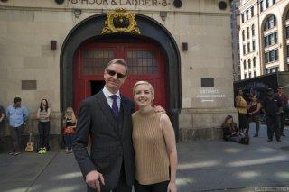 Ghostbusters: il regista Paul Feig sul set con la co-sceneggiatrice Katie Dippold