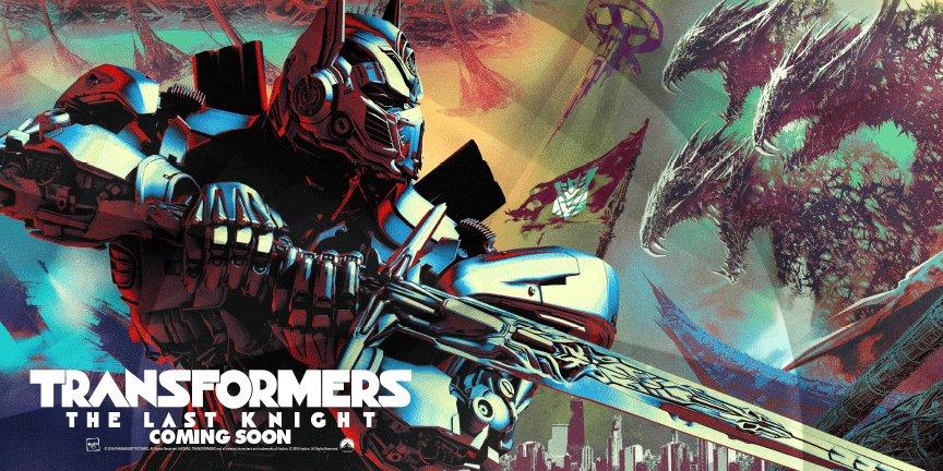 Transformers: The Last Knight, il poster ufficiale del film