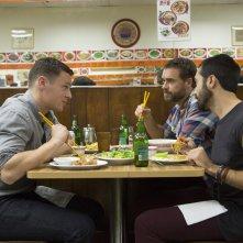 Looking: The Movie - Una foto degli attori Jonathan Groff, Murray Bartlett e Frankie J. Alvarez