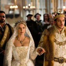 I Tudors: un'immagine del matrimonio di Enrico VIII