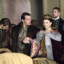 Jonathan Rhys Meyers e Natalie Dormer in una scena di The Tudors