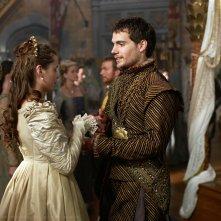 I Tudors: l'attore Henry Cavill in un'immagine della serie