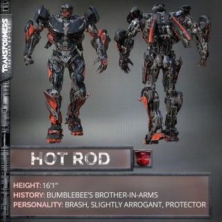 Transformers: The Last Knight - le caratteristiche di Hot Rod