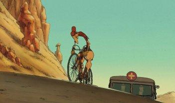Appuntamento a Belleville: una scena del film animato