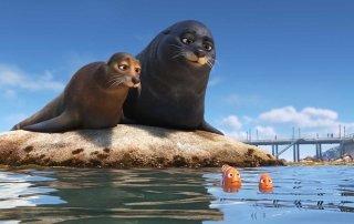 Alla ricerca di Dory: una scena del film animato