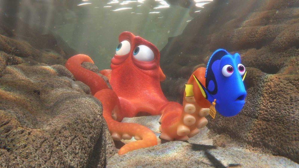 Alla ricerca di Dory: un'immagine del film d'animazione