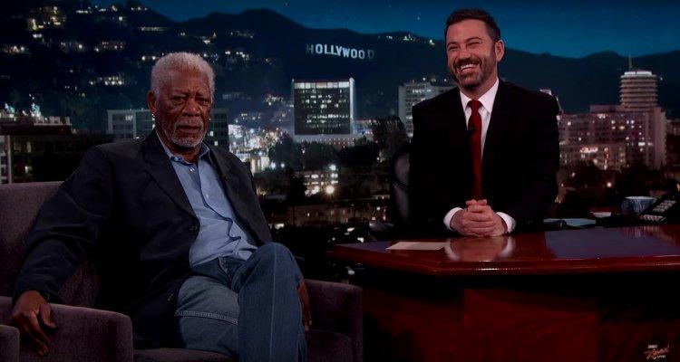 Morgan Freeman è in grado di narrare qualsiasi cosa