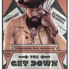 The Get Down: Yahya Abdul-Mateen II in una locandina per il personaggio di Cadillac