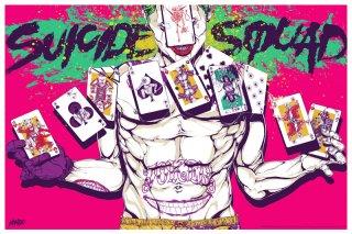 Suicide Squad: il poster realizzato da Boneface