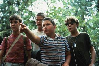 Stand By Me: i quattro giovani protagonisti Will Wheaton, River Phoenix,  Jerry O'Connell e Corey Feldman