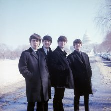 The Beatles: Eight Days a Week, un'immagine del documentario di Ron Howard che ritrae i Beatles