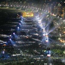 The Rolling Stones in Cuba - Havana Moon: una bella immagine dall'alto durante il concerto