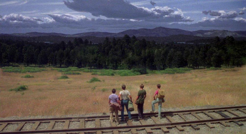 Stand by Me, una scena del film