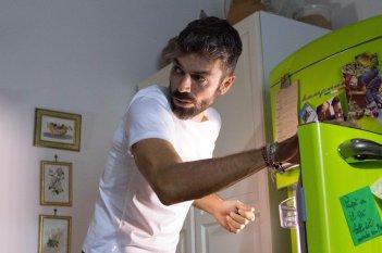 Al posto tuo: Luca Argentero in una scena del film