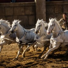 Ben-Hur: Jack Huston in azione in un momento del film