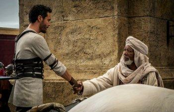 Ben Hur: Morgan Freeman nella prima foto del film