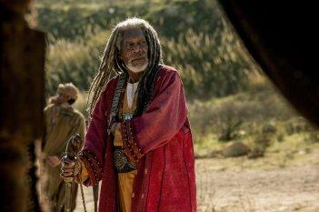 Ben-Hur: Morgan Freeman in una scena del film