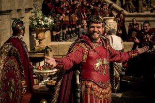 Ben-Hur: Pilou Asbaek in una scena del film