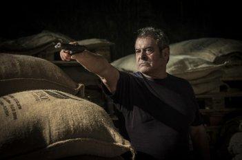 Caffè: Ennio Fantastichini in una scena del film