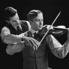 Frantz: Pierre Niney e Anton von Lucke in una scena del film
