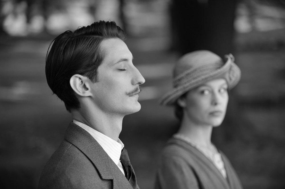 Frantz: Pierre Niney e Paula Beer in una scena del film