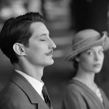 Frantz: Pierre Niney e Paula Beer in una scena del film