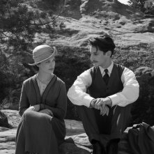 Frantz: Paula Beer e Pierre Niney in una scena del film