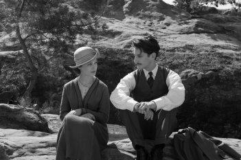 Frantz: Paula Beer e Pierre Niney in una scena del film