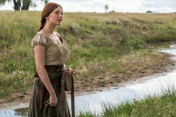I magnifici 7: Haley Bennett in una scena del film