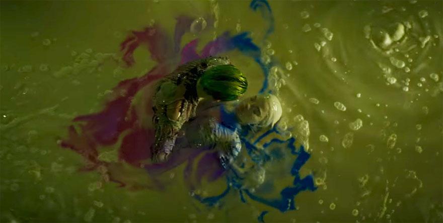 Suicide Squad: amore nell'acido per Joker / Jared Leto e Margot Robbie/ Harley Quinn