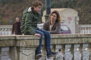 La vita possibile: Margherita Buy e Andrea Pittorino in una scena del film
