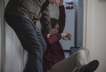 La vita possibile: Margherita Buy in una scena del film