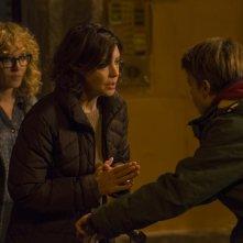 La vita possibile: Valeria Golino, Margherita Buy e Andrea Pittorino in una scena del film