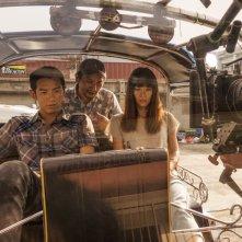 The Road to Mandalay: un'immagine dal set del film