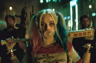 Suicide Squad - Margot Robbie in un momento del film di David Ayer