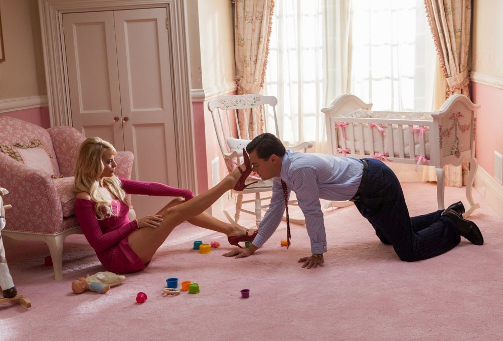 The Wolf of Wall Street - un momento del film