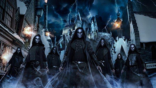 Harry Potter: i Mangiamorte arrivano agli Universal Studios