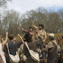 In Dubious Battle: una scena del film