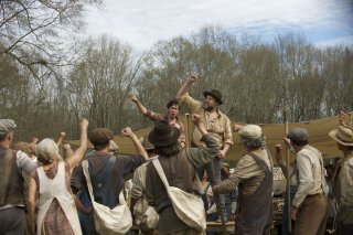 In Dubious Battle: una scena del film